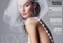 невеста с обложки журнала Vogue