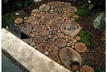 Tree trunk ideas