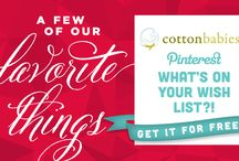 My Cotton Babies Holiday Wish List 2014 / Some of my favorite things from #CottonBabies