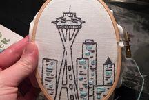 City love themed