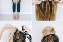 Udside Down braid