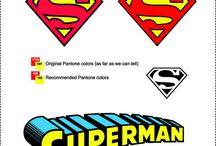 Superheroes Logo / Superhero