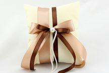 Ring pillows / Μαξιλαράκια για βέρες χειροποίητα