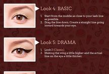 Make-up eyes