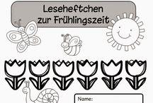 Arbeitsblätter Frühling Grundschule