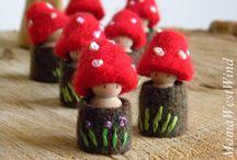 gnometti del bosco