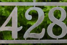 House Number Ideas - Laser Cut