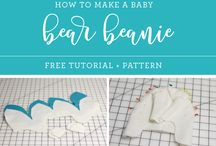 Making baby clothes