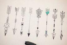 Tatuajes flechas