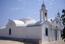 Madonnas of the Aegean sea / Churches dedicated to Virgin Mary in Greece.