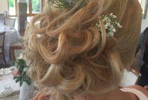 Bridal hair designs