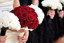 Red Wedding Inspiration / Red beauties to inspire your big day