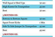 trampoline workouts