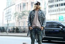 ByTheR- Modern Urban Casual Classy Unique Military Camouflage Style Men's Fashion / http://en.byther.kr/