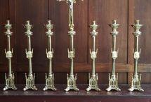 Candlesticks, Candle Stands, Votives & Sanctuary Lamps