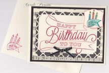 Birthday Cards-Stampin Up!  / by Robin Troutman
