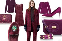 Fall | Winter 2013 Color Inspiration / Greens, Blues, Berries - Oh Mine!  We love the colors of these  fall and winter fashion must haves.