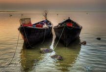 δύο βάρκες