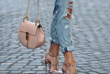 Bolsas e sapatos
