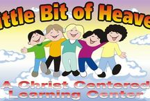 LittleBitOfHeaven / Little Bit of Heaven Learning Center has educated hundreds of children since 1999, and was founded by Beth Dye, a parent of four wonderful children and five even more wonderful grandchildren.  Elizabeth, a former preschool director and teacher for several other preschool companies, decided to launch her own center because she wanted to focus more on teaching Christian principles in a purposeful way. / by George Ogden