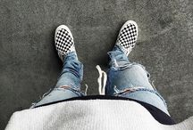 Vans Checkboard Outfits