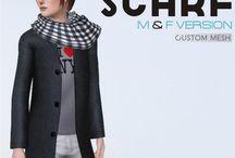 Vêtements hommes - Sims 3
