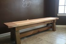 Interior Furniture / Solid wood items for inside the home.