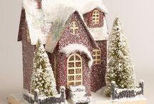 holiday Christmas village / by Paula Gray