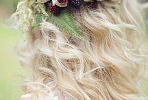 Hair, wreath....
