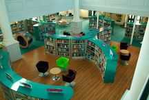 Ideas for a school library / how to make a children's library beautiful