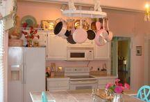 Shabby Chic Kitchen / Chabby chic inspiration