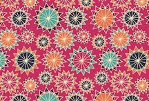 Flower Centre fabric