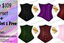 Corset Offer Banner / Latest offer, deals, sale banner By corsetsqueen.com