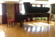 Petrof 1954 / The Grand Piano, made in Prague 1954, came to Helsinki Culture Hall 1956, recent owners Tove and Antero Saarto,