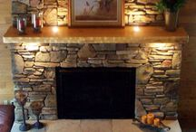 fireplace / by Lisa Papp-Richards