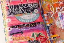 Art Journaling Love: Calendars & Planners / by Crafty Lou