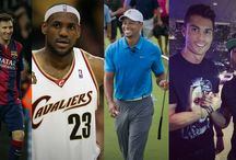 Highest Paid Athletes in the World / Forbes put out a List of the Highest Paid athletes - Check out who tops the list for 2014