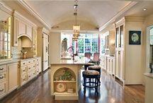 kitchen designs / by Kara Becker