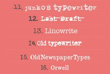 Typewriter & all about