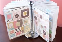 Scrapbook organization