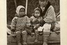 Other Inuit Exhibited / Autres Inuits exhibés / Inuit groups other than Abraham's were exhibited, e.g. six Greenlanders from Jakobshavn toured Europe in 1877-1878, more than 30 Labrador Inuit were exhibited at the Chicago World Fair in 1893, etc. /  Des groupes d'Inuits autres que celui d'Abraham ont été exhibés, par exemple, les six Groenlandais de Jakobshavn qui ont fait une tournée en Europe en 1877-1878, ainsi qu'une trentaine d'Inuits du Labrador exhibés au Chicago World Fair en 1893, etc.