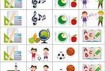 Iskolai piktogramok