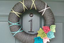 Wreath Ideas / by thismamathing