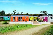 Τροχοβίλες - Προκατασκευασμένα σπίτια