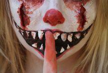 clowns terrible/ scary clowns