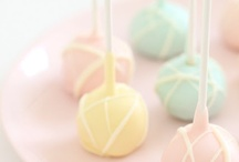 pretty . pastels / all the perfect pretty pale pastels colors | reminds me of a shabby chic cottage | a baby boy or girl | sweet baked goods & other treats | very light feminine & girly | pale pinks . . blues . . greens . . yellows . . . peaches . . lavenders . . & . . aqua |