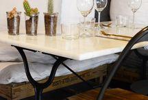 KITCHEN MP / Au 84 de la rue Mouffetard, Kitchen MP est la nouvelle adresse incontournable qui ose et invente. Ce nouveau restaurant-épicerie fine de la Mouff' est né d'une rencontre : celle de Paul, serial entrepreneur avec Matthieu et Pauline, créateurs de bonheur culinaire.