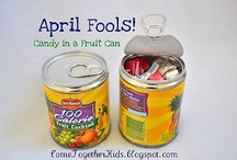 April Fool's Day / Crafts, recipes, and educational ideas for me and my kiddos to do for April Fool's Day. / by Zookeeper