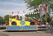 Cub Scouts- Parade