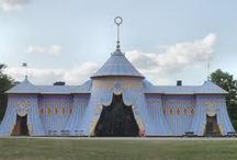 Interesting Temporary Structures / Historic & modern structures from around the world